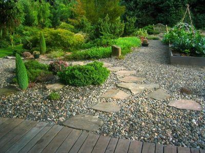 Гравийный сад: его особенности и создание