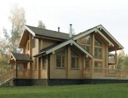 Особенности экологичных домов из клееного бруса
