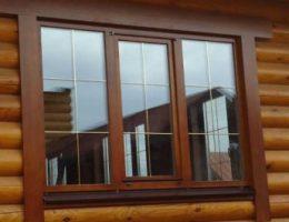 Деревянные евро окна со стеклопакетами
