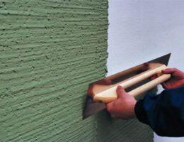 Технология отделки стен декоративной штукатуркой