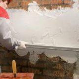 Сухие штукатурные смеси: цементные и гипсовые
