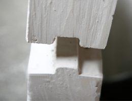 Монтаж пазогребневых плит для межкомнатных перегородок