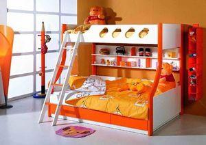 Двухъярусная кровать: не упадёт ли ребёнок