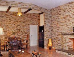 Гипсовая плитка под камень: эстетично, практично, недорого