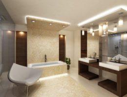Как обустроить освещение в ванной комнате своей квартиры?
