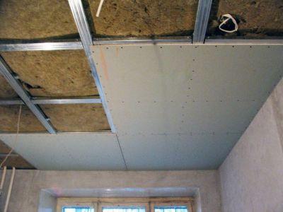 Основные стадии монтажа подвесного потолка из гипсокартона
