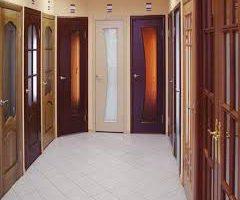 Особенности установки дверей из массива