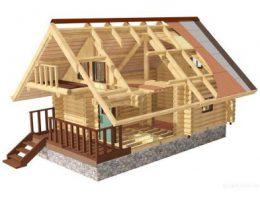 Дом из бревен: ключевые стадии сооружения
