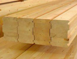 Материалы для строительства: клееный и профилированный брус