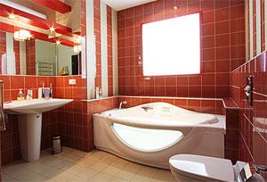 Преимущества керамической плитки для ванной комнаты