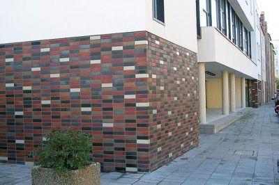 Виды фасадной плитки