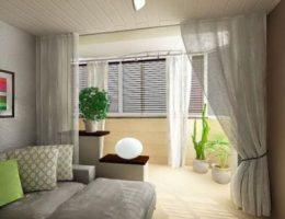 Объединить комнату и балкон: полезные советы