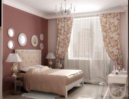 Ремонт в спальне: цвета и ткани