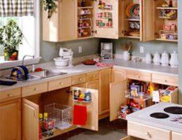 Как правильно организовать хранение в кухонных шкафах