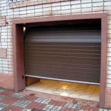 Самостоятельная установка гаражных ворот