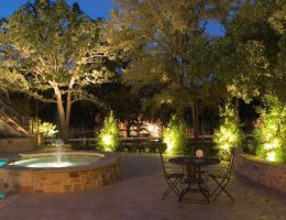 Особенности правильной, грамотной организации ландшафтного освещения дома и сада