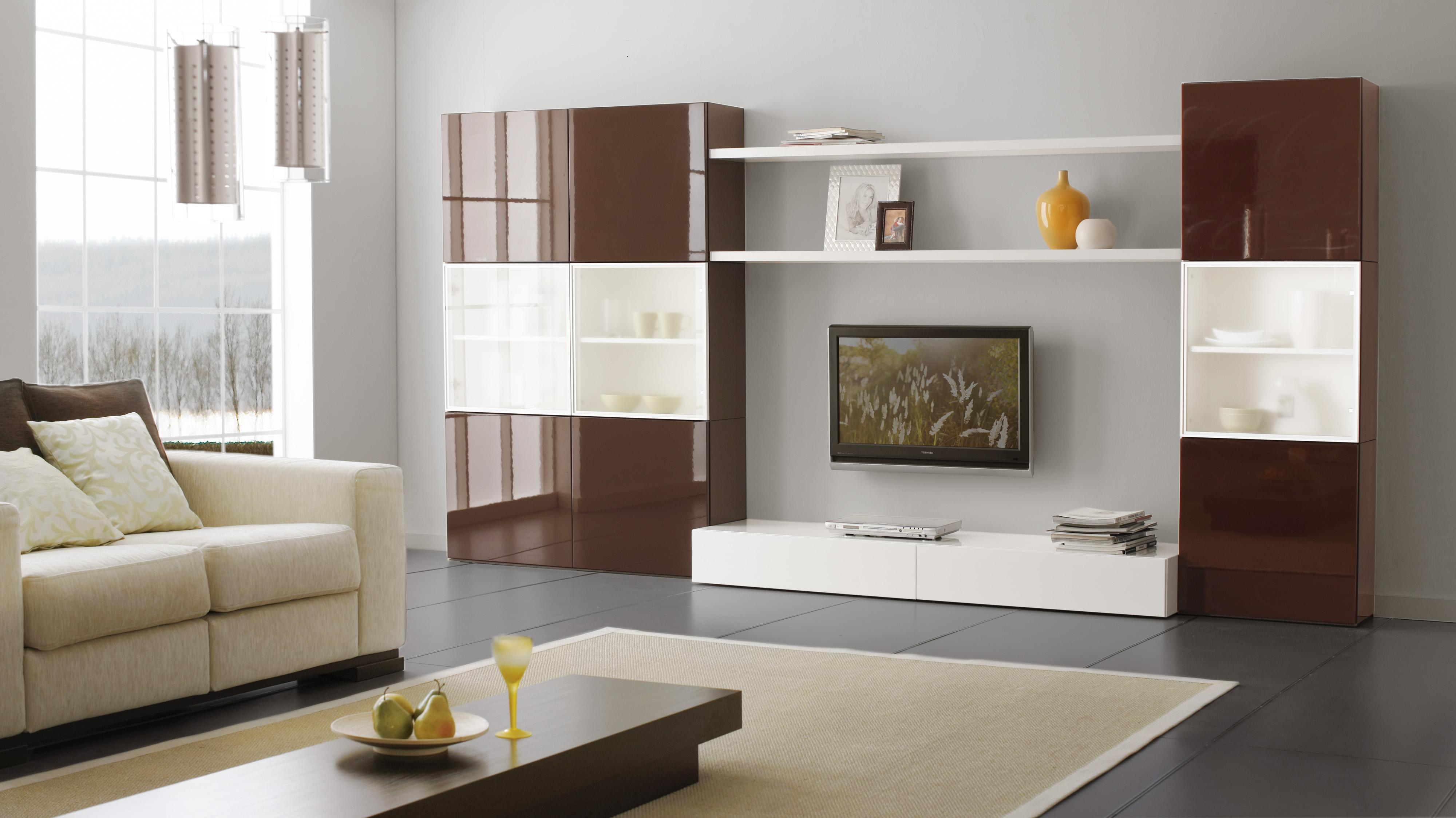 Корпусная мебель в интерьере
