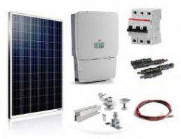 Установка солнечных батарей для дома