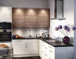 Как выбрать готовый кухонный гарнитур: материалы изготовления