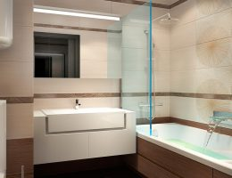Занимаемся меблировкой в просторной ванной