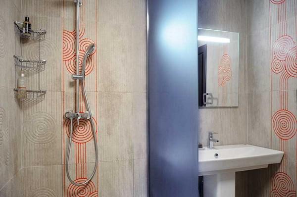 Интересные перегородки в ванную
