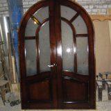 Как сделать арочную дверь