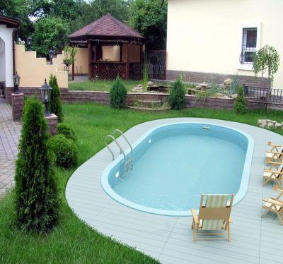 Как выбрать место и оригинальный дизайн для строительства бетонного бассейна