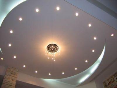 Потолок – основа домашней атмосферы