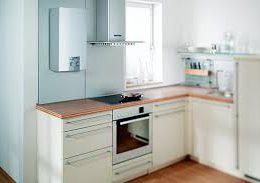 Газовые котлы и колонки в дизайне кухни