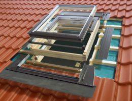 Устанавливаем мансардные окна