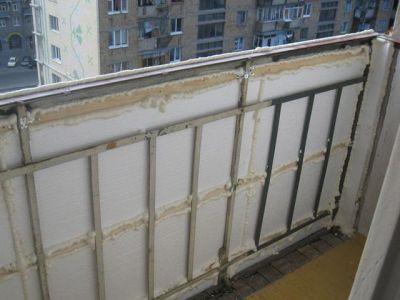 Основы утепления балкона
