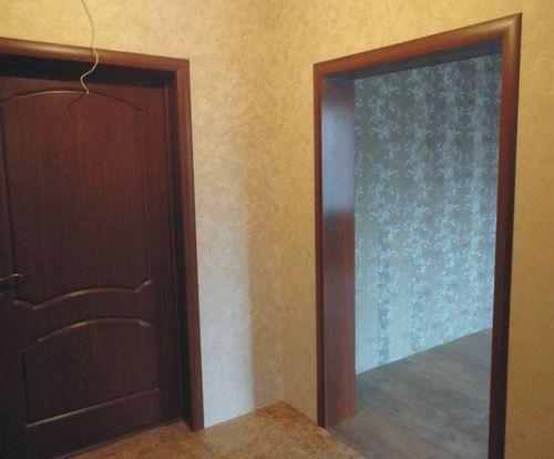 Шпонированные межкомнатные двери. Откосы дверей