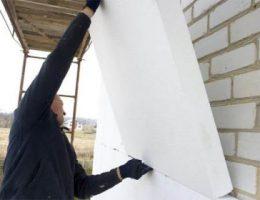 Новый материал для утепления стен – пенополистерол