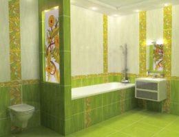 Керамическая плитка для ванной комнаты. Делаем выбор