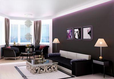 Индивидуальный интерьер квартиры