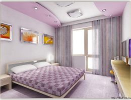 Изготовление потолка в спальне из гипсокартона