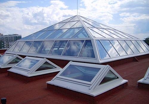 Звездное небо. Прозрачная крыша.