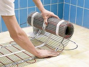 Электрический теплый пол в доме