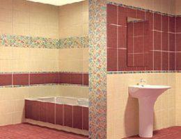 Выбираем плитку в ванную комнату