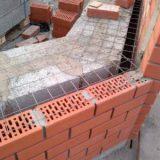 Стены из керамических и силикатных кирпичей и блоков