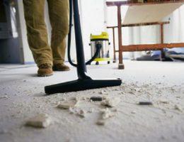 Как отчистить пол после ремонта