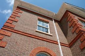 Облицовка фасада кирпичом, особенности ухода