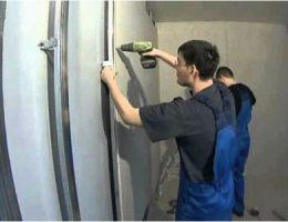 Особенности монтажа гипсокартона на стены