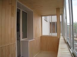 Какие могут быть варианты отделки балконов и лоджий?