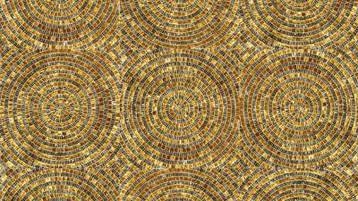 Интересные панно из мозаики для дизайна бассейна