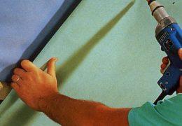 Как самостоятельно крепить гипсокартон?