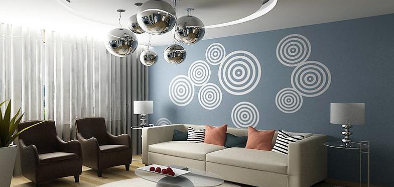 Трафареты для декора стен в квартирах и офисах