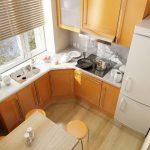 Дизайн малогабаритных кухонь - как вместить все самое необходимое