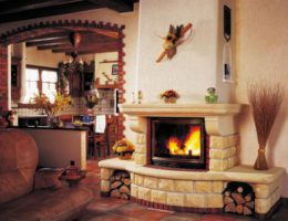 Советы, как укладывать и декорировать камин