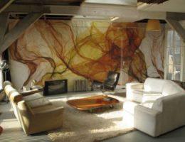 Художественная роспись стен красками